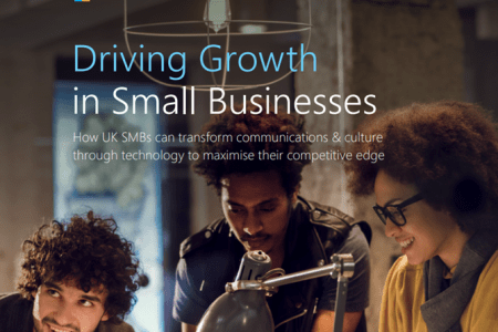 We've featured in a new report from Microsoft, 'Driving Growth in Small Businesses""