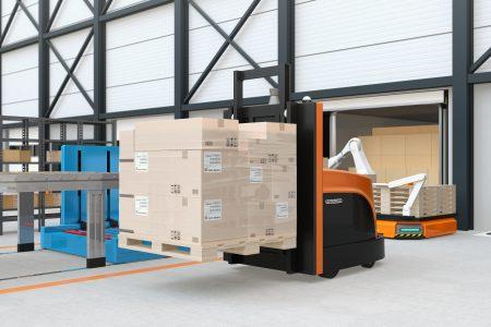 Robotic Fork Trucks Set for Lift Off