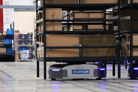 The Future of Smart Logistics Automation: Geek+ Decathlon AMR whitepaper