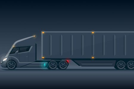 Electric truck and bus powertrain market