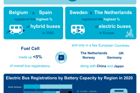 The Electric Bus Market - Infographic